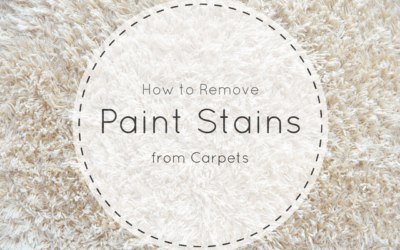 How to Remove Paint from Carpet