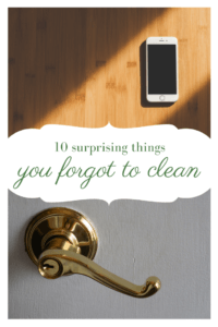 10 surprising things you're forgetting to clean