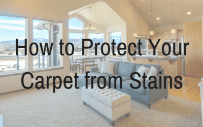 How to Protect Your Carpets From Stains